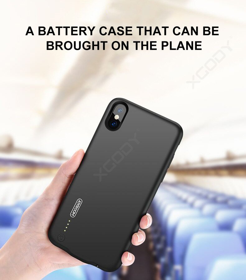 Super Slim Battery Charging Power Case Ultra Thin for iPhone X