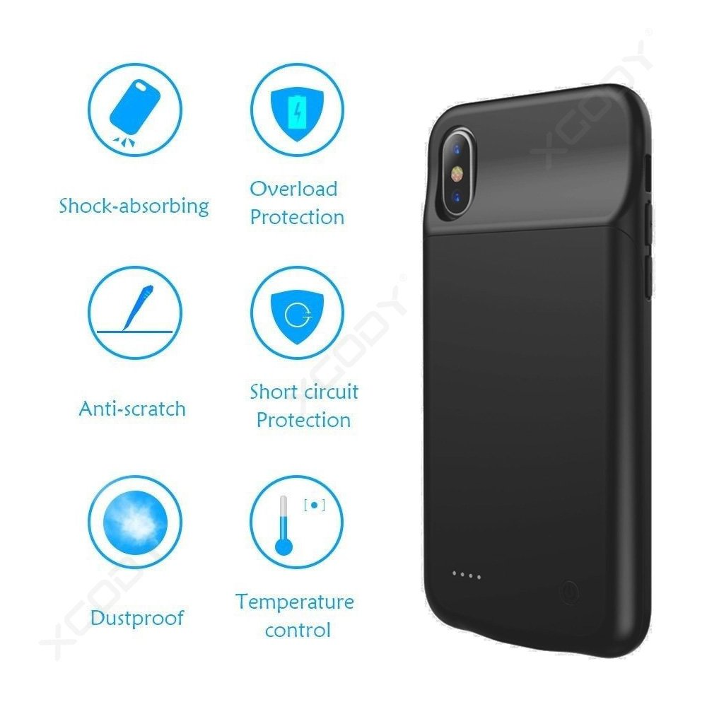 BFX-11 Multi-Color Slim External charging Case for Iphone X