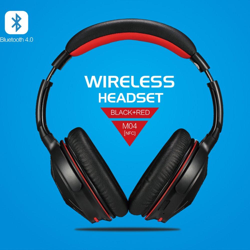 AUSDOM-Wireless-Headphones-Bluetooth-Stereo-Earphones-Super-Bass-On-Ear-Headset thumbnail 7
