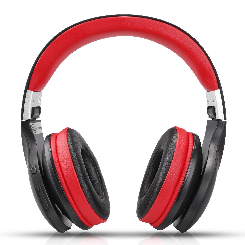 AUSDOM-Wireless-Headphones-Bluetooth-Stereo-Earphones-Super-Bass-On-Ear-Headset thumbnail 8