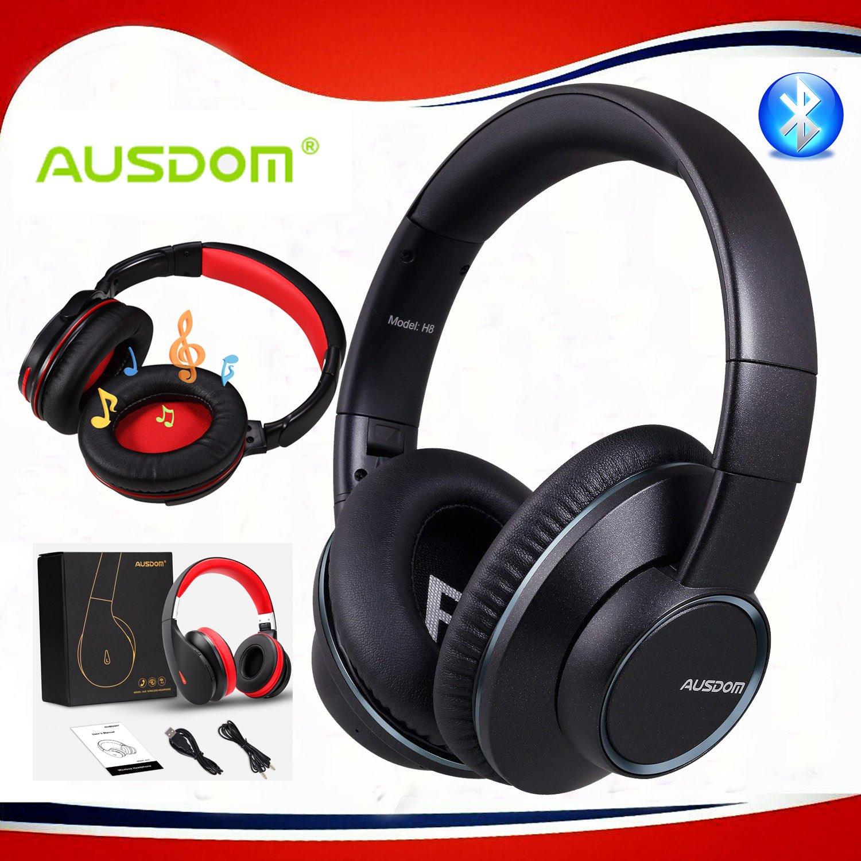 AUSDOM-Wireless-Headphones-Bluetooth-Stereo-Earphones-Super-Bass-On-Ear-Headset