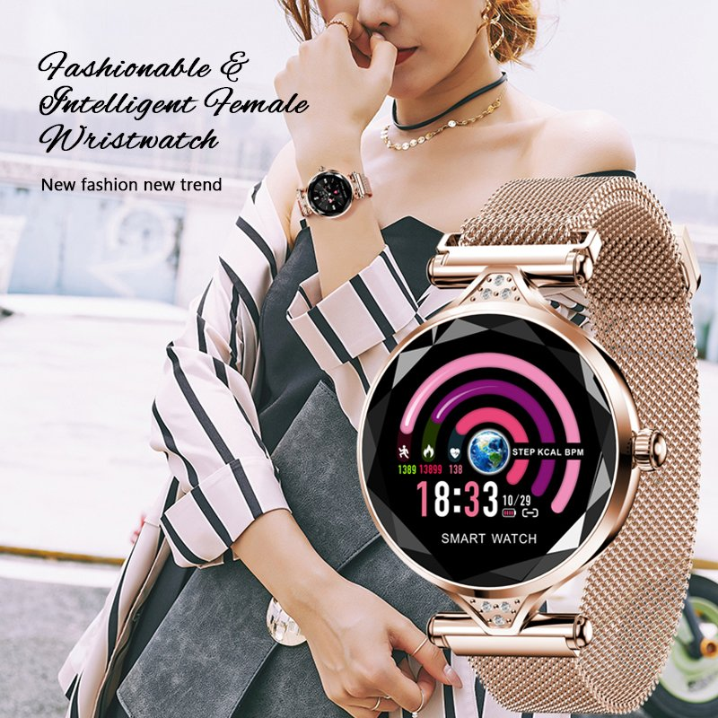 2019 Waterproof Women Lady Smart Watch Bracelet Sport Fitness Tracker Fashion US