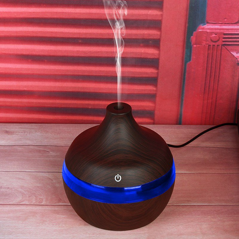 USB LED Aromatherapy Essential Oil Humidifier Mist Diffuser Air Purifier 7-Color