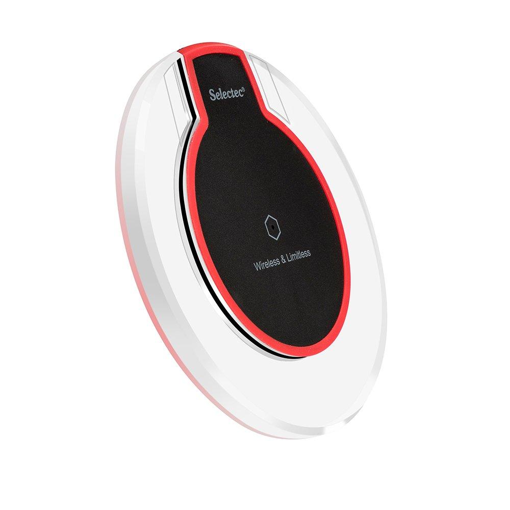 qi wireless ladestation induktiv ladeger t drahtlos kabellos induktion ladepad ebay. Black Bedroom Furniture Sets. Home Design Ideas