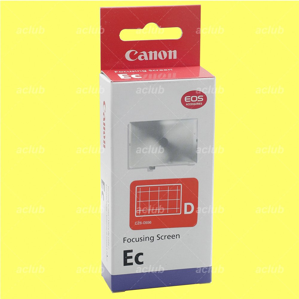 Canon Ec-D Focusing Screen for EOS 3 1Ds 1D X 1DX 1D Mark II III IV 1N RS 1V HS