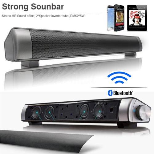 HIFI Wireless Bluetooth Soundbar Super Bass Home TVSpeaker Subwoofer Sound Bar