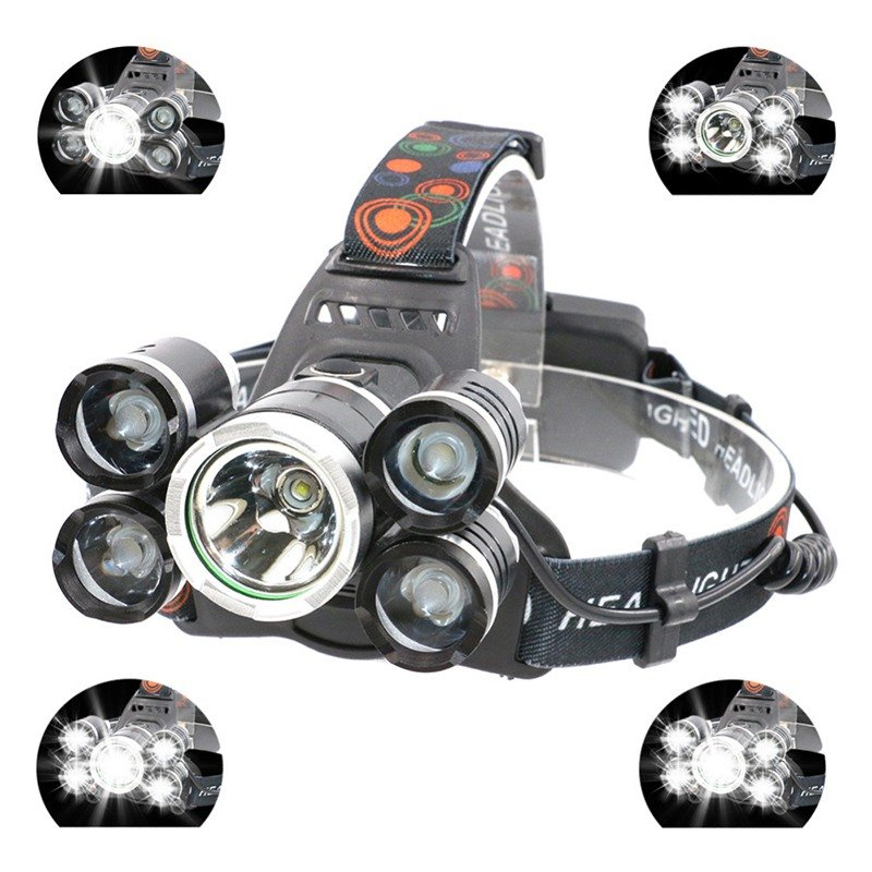 90000LM XM-L T6 LED Headlamp Headlight Flashlight HeadLight Canada Stock