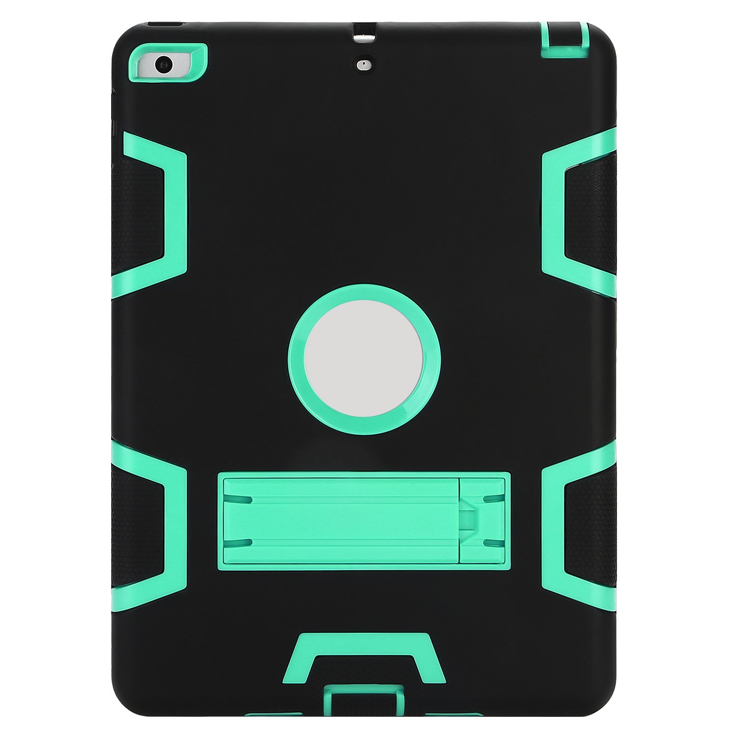 Rugged 3-Layer Heavy Duty Shock Proof iPad 234 Mini Pro Air Case Shell Cover 45